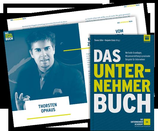 Das Unternehmerbuch – mit Thorsten AbraXas Ophaus